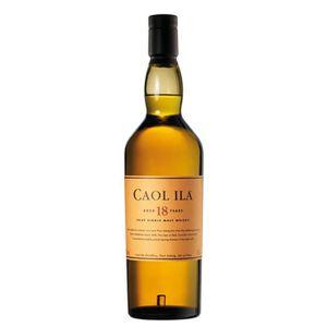 WHISKY BOURBON SCOTCH Whisky Caol Ila 18 ans 43° 70 cl