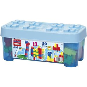ASSEMBLAGE CONSTRUCTION LES MAXI Coffret Bleu 50 pcs Construction Premier