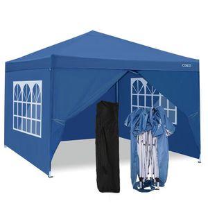 TONNELLE - BARNUM Tente de réception pliante 3 x 3 m auvent avec sac