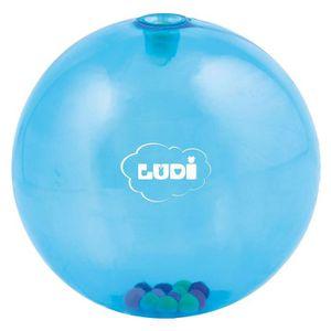 BALLE - BOULE - BALLON LUDI Balle d'Eveil Bleue - Diamètre 20 cm