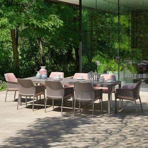 Salon de jardin exterieur Net Rio tortora NARDI - Achat ...