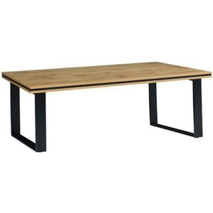 TABLE BASSE Table basse pour votre salon MALAGA. Coloris chêne