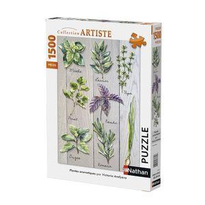 PUZZLE Puzzle Plantes Aromatiques 1500 pcs