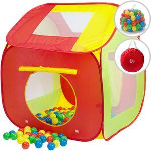 PISCINE À BALLES Tente de jeu pour enfants Piscine à balles avec 20
