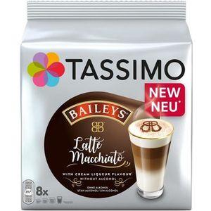 CAFÉ TASSIMO Baileys Latte Macchiato, Capsule de café,