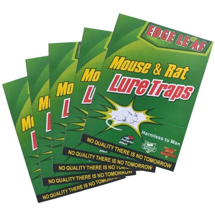 Piège à Souris Pièges à Rats, 20 Plaques Collantes Souris, Plaques de glu Anti Souris Anti Rat - Grande Taille