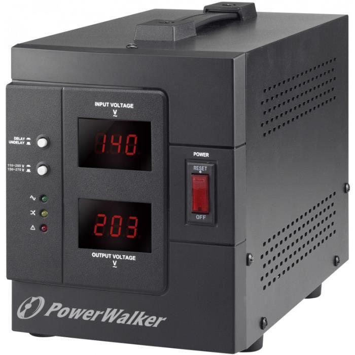 REGULATEUR ELECTRIQUE STABILISATEUR TENSION UV34 140V À 250V - SORTIE 220V 2000W