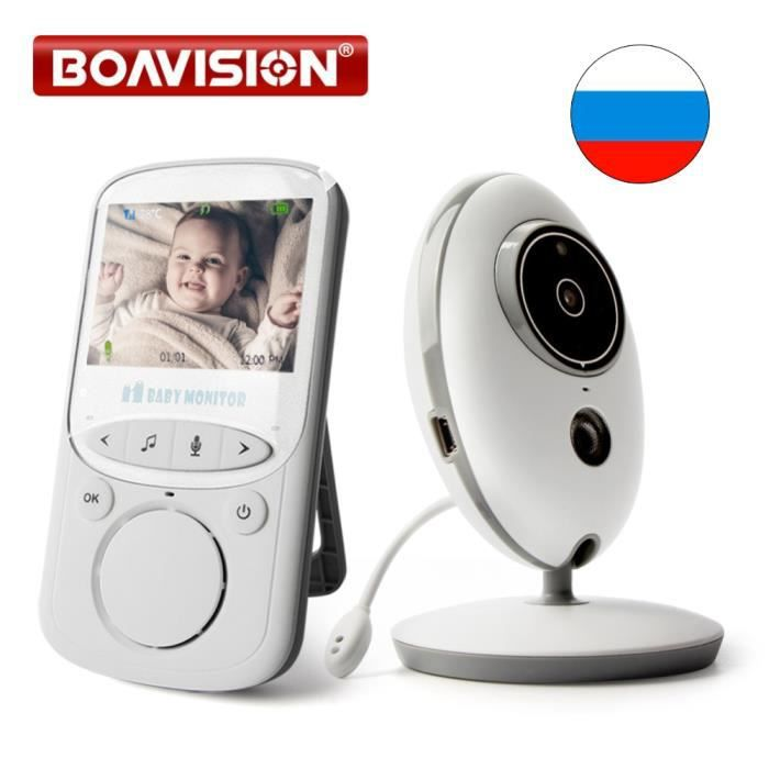 BABY PHONE - ECOUTE BEBE,BOAVISION VB605 moniteur Portable 2.4 pouces Écran LCD, sans fil, Radio vidéo, caméra, pour nounou,