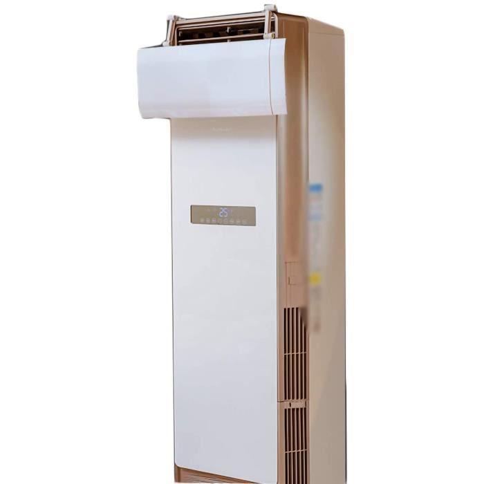 Climatiseurs portables PTY D&eacuteflecteur de Climatiseur Vertical Climatiseur D&eacuteflecteur Home Office Anti Direct Souffl474
