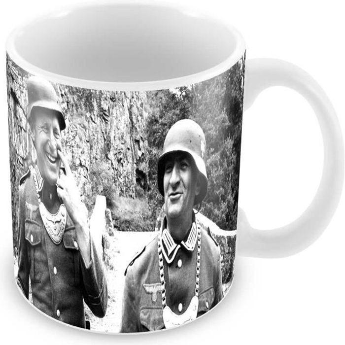 Mug bourvil louis de funes tournage la grande vadrouille complices