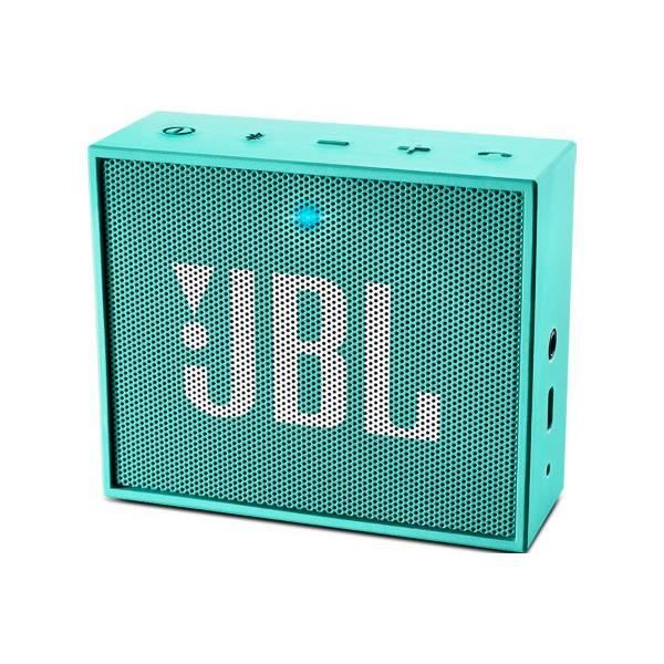JBL GO Enceinte bluetooth portable turquoise - Version Bluetooth : 4.1 - Support : A2DP V1.2, AVRCP V1.4, HFP V1.6, HSP V1.2 - Haut-parleur : 1 x 40 mm ...ENCEINTE NOMADE - HAUT-PARLEUR NOMADE - ENCEINTE PORTABLE - ENCEINTE MOBILE - ENCEINTE BLUETOOTH - H