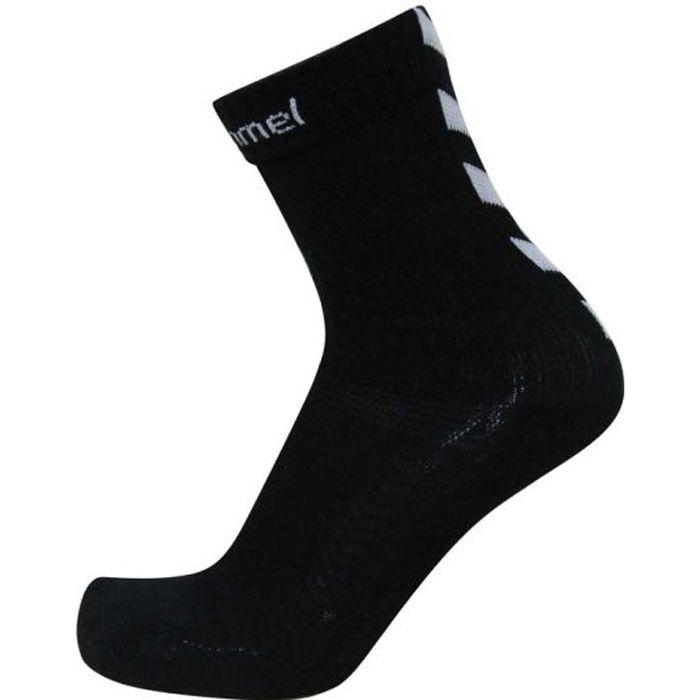 HUMMEL Chaussettes de Handball Authentic Indoor - Homme - Noir et Blanc