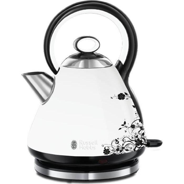 Russell Hobbs 21963-70 Bouilloire 1,7L Legacy Florale 2400W, Ebullition Rapide
