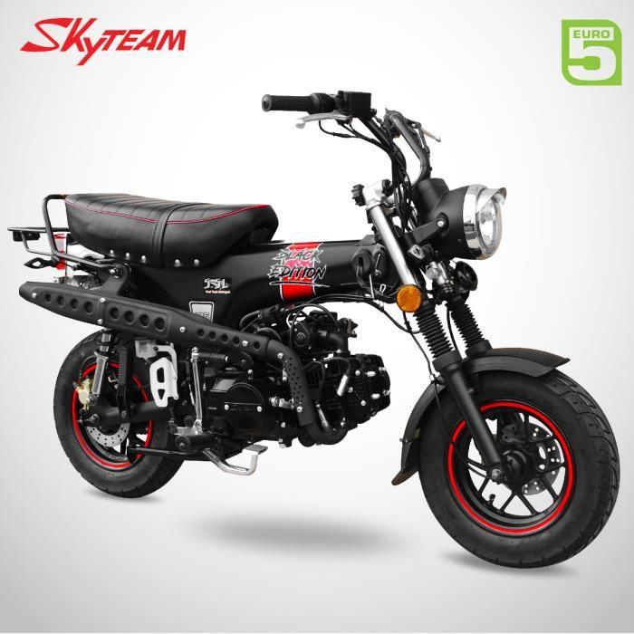 Mini Moto - DAX 125 - Black Edition - SKYTEAM - Noir Mat