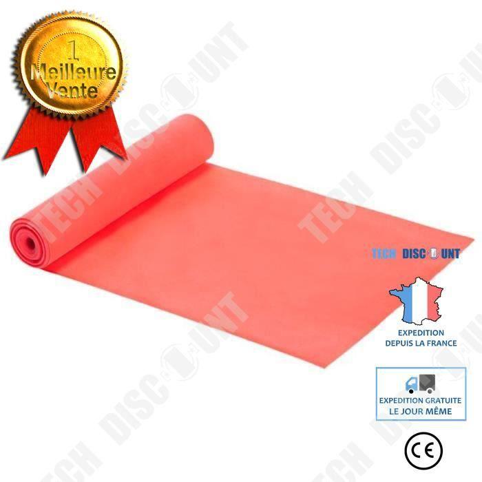 TD® Accessoires Fitness - Musculation,Nouveau 20-25lb Yoga exercice longue résistance bande Latex naturel étirement boucle - Type pi