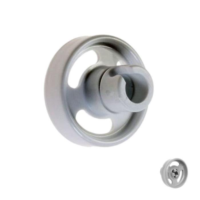 Roulette de panier inférieur - Lave-vaisselle - WHIRLPOOL, ARISTON HOTPOINT (20189)