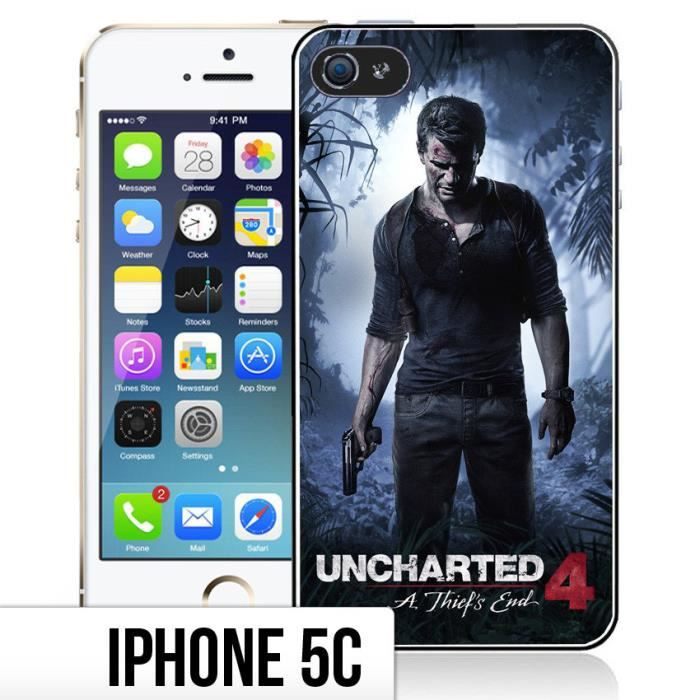Coque iPhone 5C Uncharted 4 - A Thief's End