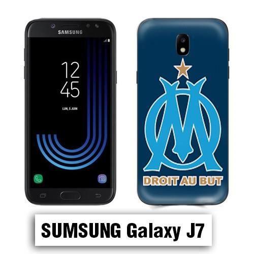 Coque Samsung J7 2017 OM Olympique de Marseille - Cdiscount Téléphonie