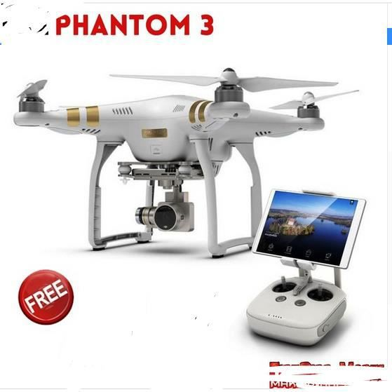 original dji phantom 3 advanced professional drone with 2 7k 4k full hd camera build in gps. Black Bedroom Furniture Sets. Home Design Ideas