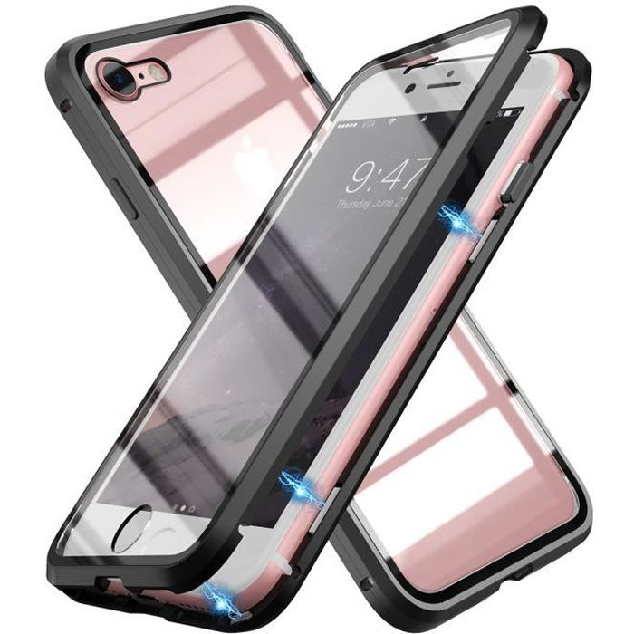grandever coque iphone 7 8adsorption magnetique ve