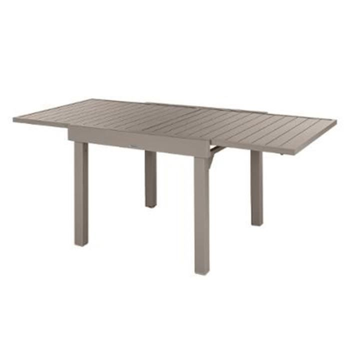 Table extensible alu Piazza 4/8 places Tonka