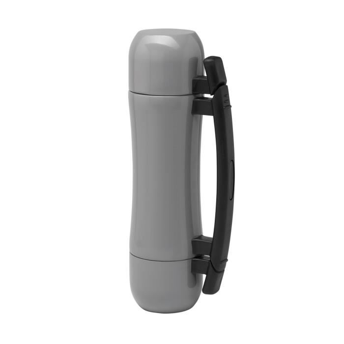 bouteille isotherme inox avec tasses 500 ml kimood achat vente bouteille isotherme cdiscount. Black Bedroom Furniture Sets. Home Design Ideas