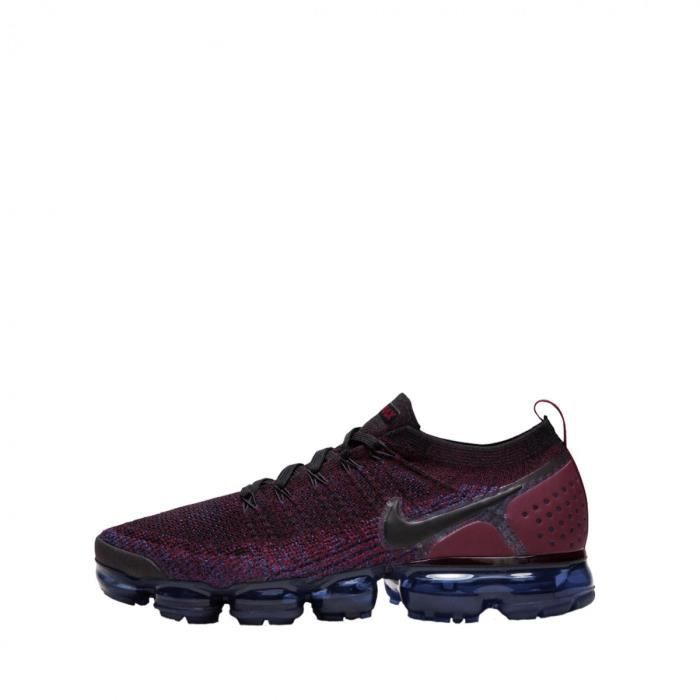 e4fab881c53b Baskets Nike Air Vapormax Flyknit 2 - Ref. 942842-006 Rouge Bordeaux ...
