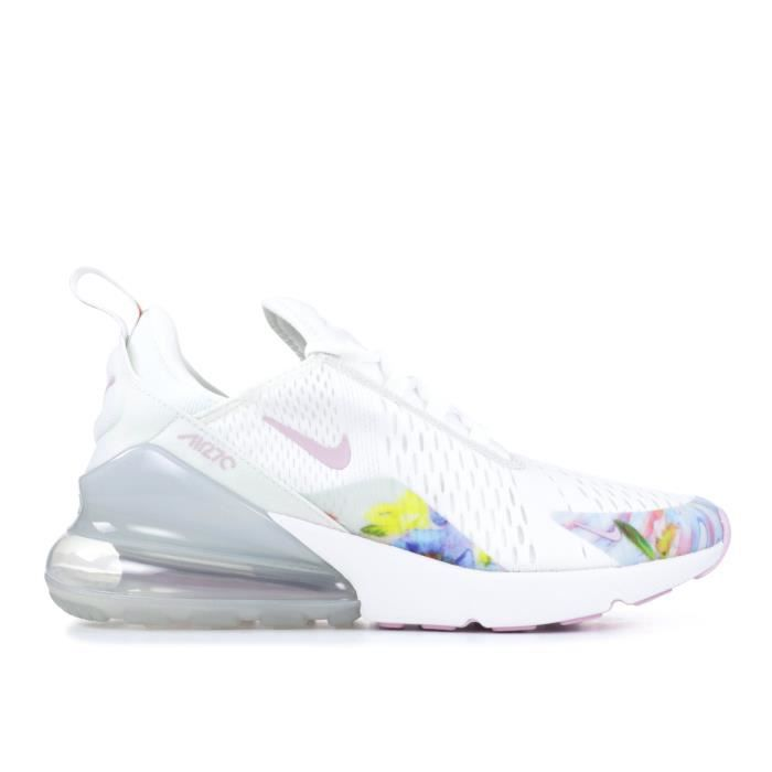 air max 270 blanche rose
