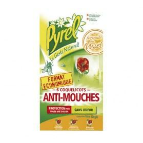 anti mouches coquelicots lot de 6 achat vente produit insecticide insecticide insecte. Black Bedroom Furniture Sets. Home Design Ideas