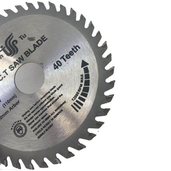 """1Pc 4/"""" 110 mm carbure Alliage Lame De Scie Circulaire Disque pour couper du bois 30 T 40 T NEUF"""
