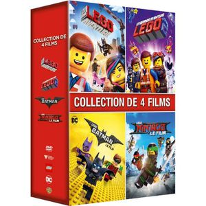DVD DESSIN ANIMÉ Coffret DVD Intégrale Lego 4 Films : La Grande Ave