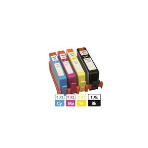 PACK IMPRIMANTE Multipack 4 cartouches 364XL Black  & Color pour i