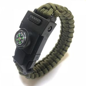 PARACHUTE Version Army Vert - Bracelet Multifonction De Surv