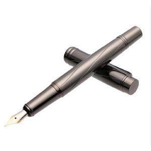 Stylo - Parure stylo plume strié