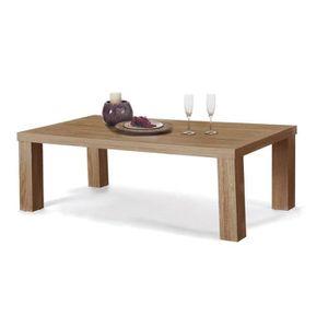 TABLE BASSE Table basse couleur chêne clair contemporaine ATTI