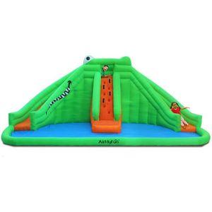 AIRE DE JEUX GONFLABLE Château Aquatique Gonflable pour enfants 6,90m - A