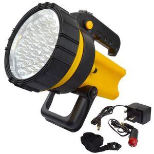 ECLAIRAGE ATELIER 37 LED lanterne rechargeable Torche Lampe de proje