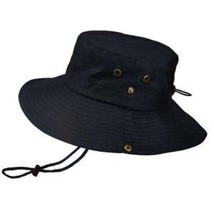 pour randonn/ée s/échage rapide Unimango Chapeau de p/êche /à grand bord pour protection UV camping voyages