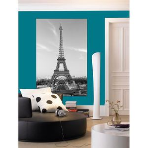 poster paris noir et blanc achat vente pas cher. Black Bedroom Furniture Sets. Home Design Ideas
