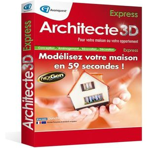 MULTIMÉDIA Architecte 3D Express 2014 (V17.5)