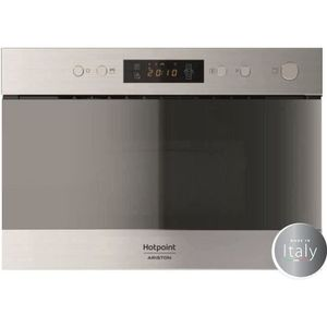 MICRO-ONDES HOTPOINT MH 200 IX - Micro ondes encastrable inox