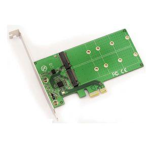 CARTE CONTROLEUR Carte Controleur PCIe pour SSD M.2 - 2 ports - Pou