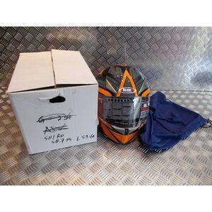 ACCESSOIRE CASQUE casque integral shiro moto sh-715 double ecran tai