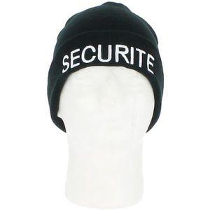 BONNET - CAGOULE Bonnet SECURITE - NW Noir - #000000