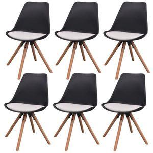 CHAISE Lot de chaises de salle à manger62 x 62 x 82 cm S