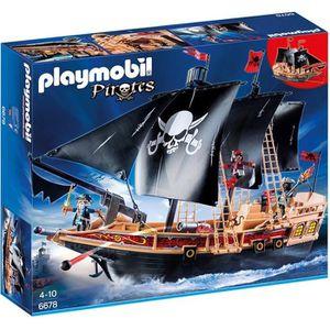 UNIVERS MINIATURE PLAYMOBIL 6678 - Pirates - Bateau Pirates des Ténè