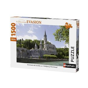 PUZZLE Puzzle Sanctuaire de Lourdes 1500 pcs