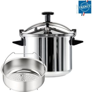 COCOTTE MINUTE SEB Autocuiseur authentique XL 12L Inox PO5317