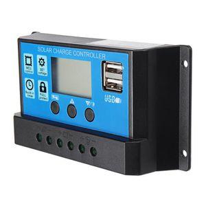 KIT PHOTOVOLTAIQUE TEMPSA 40A LCD Régulateur solaire contrôleur pour