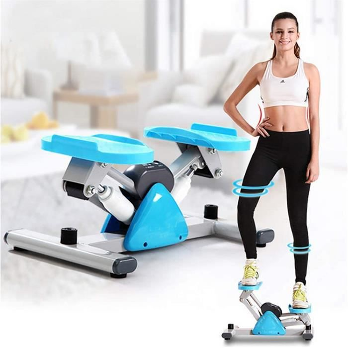 LYzpf Portable Stepper Hydraulique Fitness Stair Mini Cardio Exercise Machines De Training Appareil de Sport Musculation Steppers po